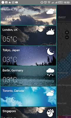 Harta Radar Meteo Android Download