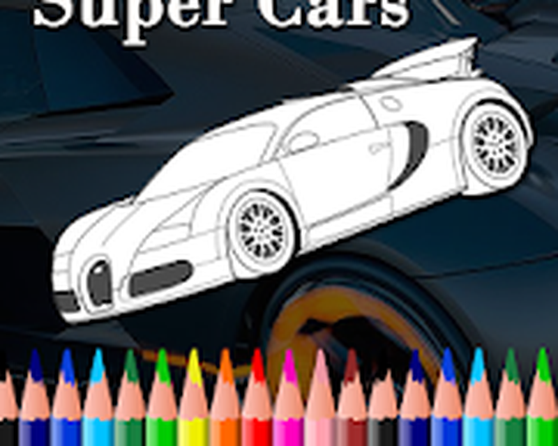 103+ Cars Coloring Book Download Best HD