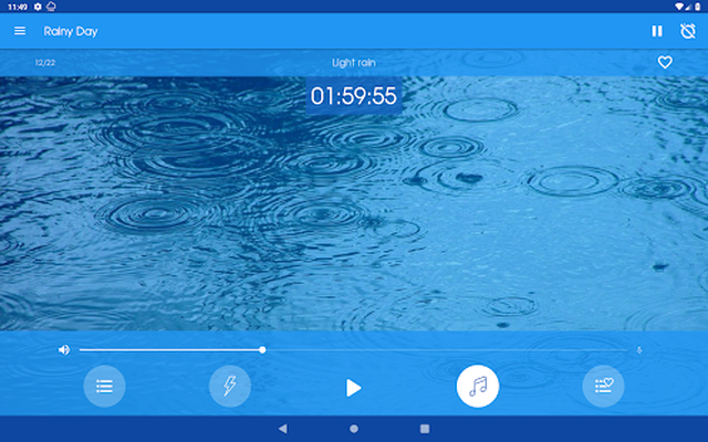 Rainy Day - Rain sounds Android - Free Download Rainy Day - Rain