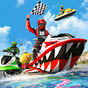 Su jeti kayak botu yarış 3d 1.4