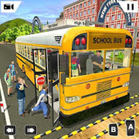 Offroad School Bus Driving Simulator 2019 icon
