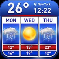 Ícone do Weather report & temperature widget