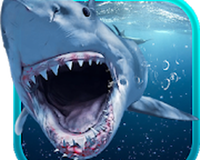 Shark Attack Animated Keyboard Live Wallpaper Android