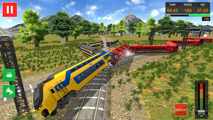 Euro Train Simulator Free - Train Games 2019 Android - Free