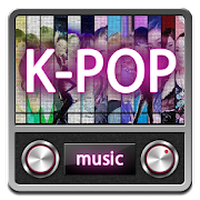 K-POP Korean Music Radio Simgesi