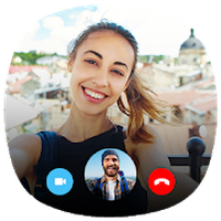 Live Video Call - Random Video Chat Simgesi