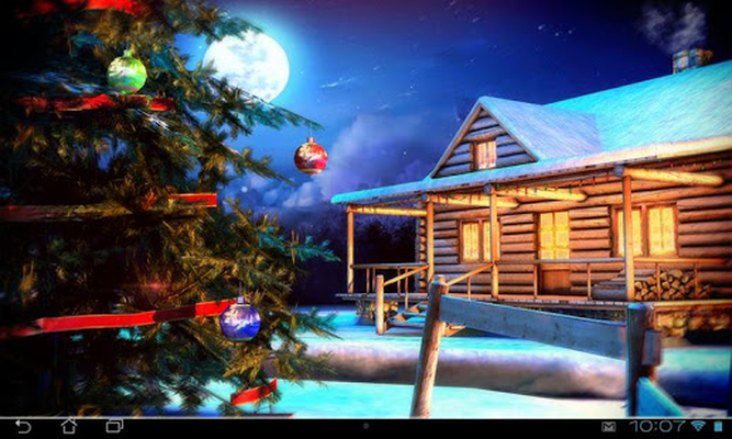 Christmas 3d Live Wallpaper App Android Kostenloser