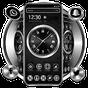 Tema de reloj de lujo de metal negro 1.1.2