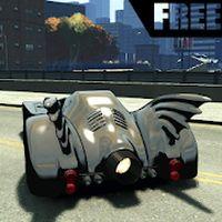 Flying Drift Batmobile Drive apk icon