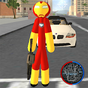 Iron Stickman Rope Hero Gangstar Crime 3.0