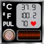 Vücut Sıcaklığı Günlüğü Ateş Kontrol Tarama Takib 1.3