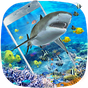 3D Ocean Shark Theme(shake&get effect) 1.0.2