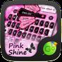 Pink Shine GO Keyboard Theme 4.15