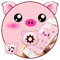 Pink Cartoon Piggy Kawaii Theme 1.1.4