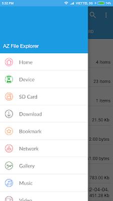 AZ File Explorer File Manager(Root Explorer) Android - Free