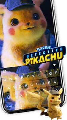 Pokémon Detective Pikachu Keyboard Android - Free Download