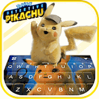 Tema Keyboard Pokémon Detective Pikachu