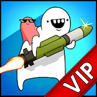 Ícone do [VIP]Missile Dude RPG: Tap Tap Missile