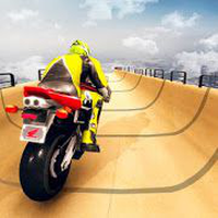 Mega rampa Impossible Tracks Stunt Bike Rider Simgesi
