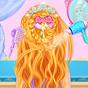 Prenses Saç örgüsü Saç modeli makyaj 0.1