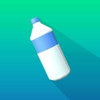 Icoană Bottle Flip 3D