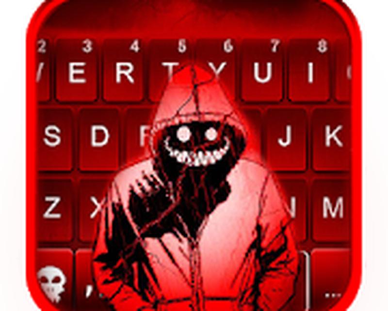 Creepy Red Smile Keyboard Theme Android - Free Download Creepy