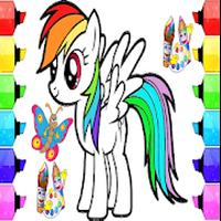 Mewarnai Kuda Pony Android Free Download Mewarnai Kuda Pony