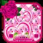 Tema Keyboard Pink Roses 1.0
