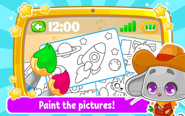 Tablete Imagini De Colorat Jocuri Pentru Copii Android