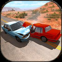 Autoschaden & Crash Stunt Racing: 99% Abriss APK Icon