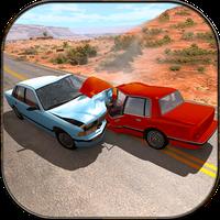 Car Damage & Crash Stunt Racing: 99% sloop APK icon