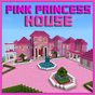 Map Pink Princess House for MCPE 1.0