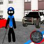 US Police Stickman Rope Hero Vegas Gangstar Crime 1.1