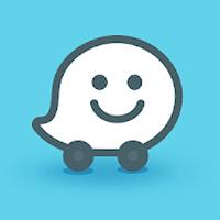 Ícone do Waze social GPS Maps & Traffic