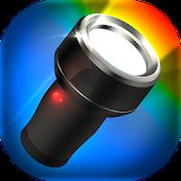 Icono de Linterna de color LED luz