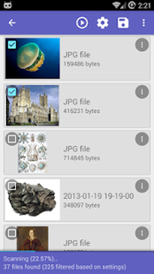DiskDigger undelete (root) Android - Free Download