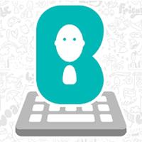 Ícone do Bobble App - Stickers & Comics