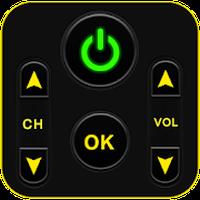 Ícone do TV controle remoto universal