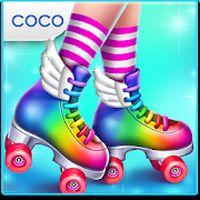 롤러 스케이트 걸 - 스케이트 댄스 아이콘