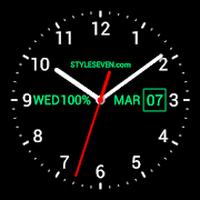 Ícone do Analog Clock Live Wallpaper-7