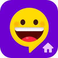 Ikon Quick SMS Launcher: Emoji, Customize Chat