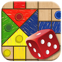 Ludo Parchis Classic Woodboard Simgesi