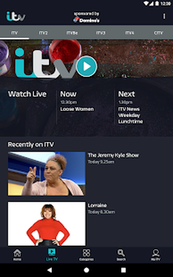 ITV Player Android - Free Download ITV Player App - ITV PLC