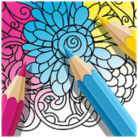 Ícone do ColorMe - Livro para colorir