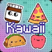 Kawaii Food Pixel Art Couleur Par Numéro Food Android