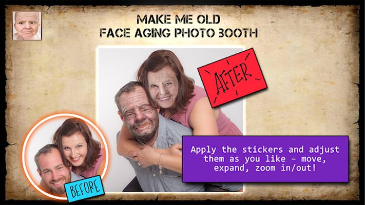 Aging Faces Photo - Get Old App Screenshot apk 0