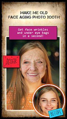 Aging Faces Photo - Get Old App Screenshot apk 1