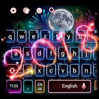Иконка Happy New Year 2018 Keyboard Theme