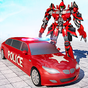 US Police Limo Car Robot Transform 1.11
