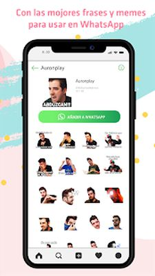 Free YouTubers Stickers - WAStickerApps screenshot apk 3